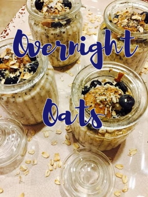 Easy Overnight Oats ~Oats 3 ways~