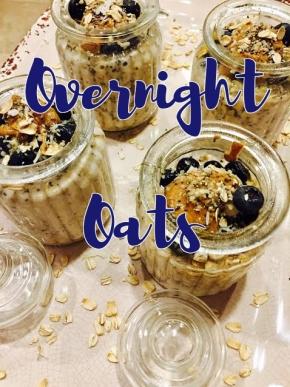 Easy Overnight Oats ~Oats 3ways~