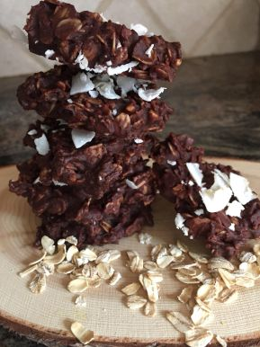 No Bake Chocolate Peanut Butter Cookies
